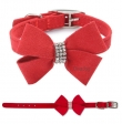 *Nevada Bow* Rood * Maat XS/S: 28 cm - Maat S/M: 33 cm